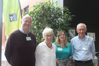 Members of Chimney Meadows Work Party at Volunteer Awards
