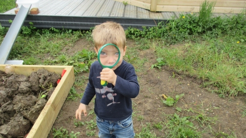 Nature tots session