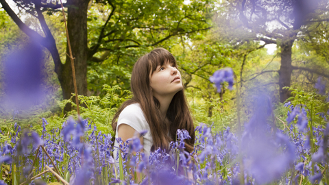 Girl in bluebells by Katrina Martin/2020Vision