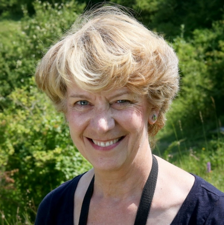 Barbara Muston, Chair of Berks, Bucks & Oxon Wildlife Trust