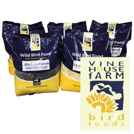 Vine House Farm bird food