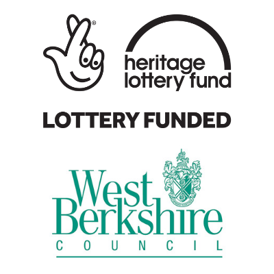 Heritage lottery fund and WBC logos