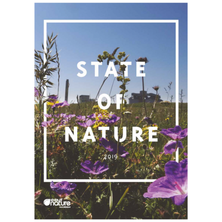 Cover of the State of Nature report