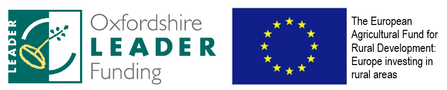 Oxfordshire Leader and EU logos